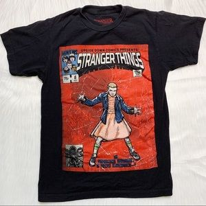 Hot Topic Eleven Stranger Things Graphic Black Tee